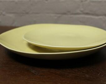 Organic Line Portuguese Dinnerware / Serveware in Provence Crème Ceramic Salad Plate