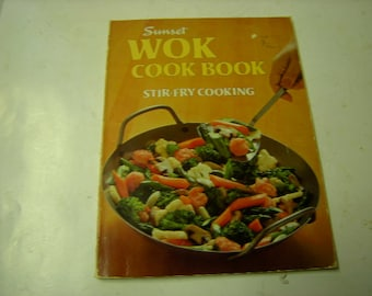 book-cook book-sunset cook book-wok cooking-stir fry cooking-chinese cooking-
