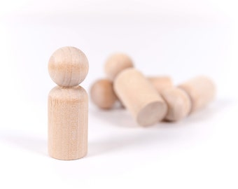 20 Wooden Dad Peg Dolls