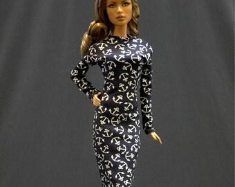 Dolls dress for Fashion royalty,,Silkstone,All barbie doll- No.926