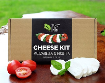 Mozzarella & Ricotta Cheese Kit - Make Your Own - Just add milk!