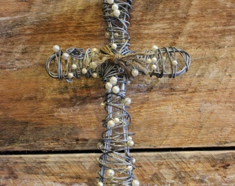 Decorative Handmade Wire Cross