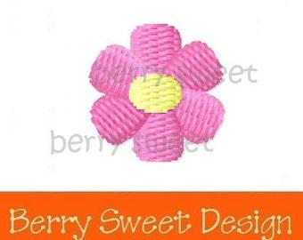 daisy flower machine embroidery design