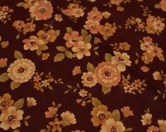 """Moda Fig Tree Quilts Floral """"Cinnamon Stars"""" Joanna Figueroa, Sold by the HALF Yard"""