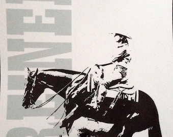 Reining Decal, Reiner Decal, Trailer Decal, Horse Decal, Reining