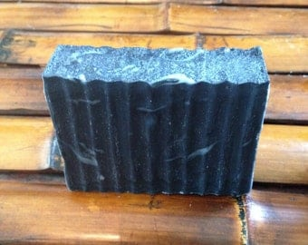 Charcoal-Eucalyptus Face and Body Therapy Soap