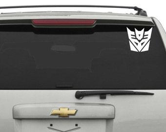 Decepticon (Transformers) Car Decal