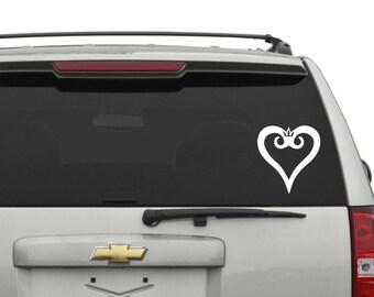 Kingdom Hearts Car Decal
