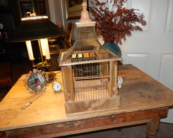FRANCE ANTIQUE BIRD Cage