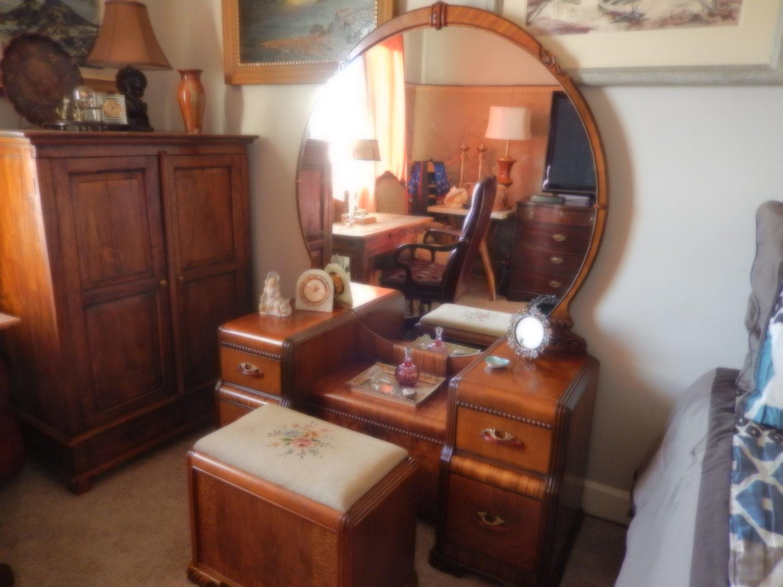 PORTLAND OREGON DOERNBECHER Antique Art Deco Bedroom ...