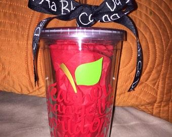 Teachers tumbler cup