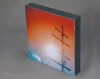 Mark square - mast