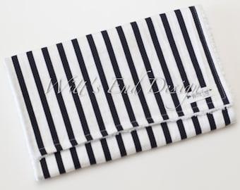 Stripes Burp Cloth, Modern Gender Neutral Burp Cloth, Mix & Match-Super Absorbent Cotton Chenille, Burp Rag, Baby Shower Gift-B/W STRIPES