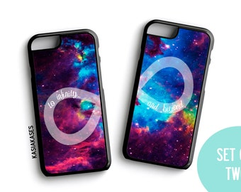 BFF Case / Galaxy Infinity Toy Story iPhone 4 Case Best Friends iPhone 5 Case iPhone 4S Case iPhone 5S Case One 4 Your BFF Set Phone Case