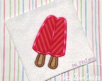 Double Popsicle 70 Applique Design