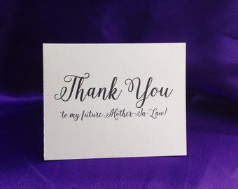 Wedding Thank You Card for Mother-in-Law