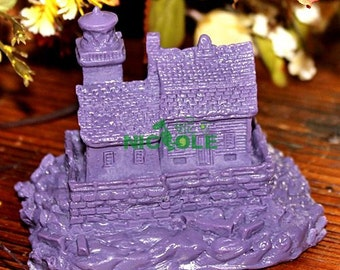 3D Castle Soap Mold Cake Mold Soap Mould Silicone Mold Candle Mold Resin Mold