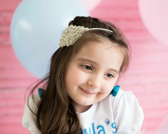 Stunning Rhinestone Encrusted Headband, Baby Headband, Christening Headband, Toddler Headband, Photo Prop, Special Occasions