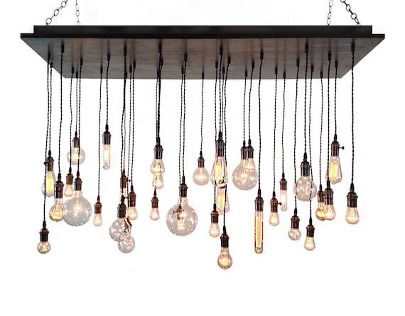 Industrial Chandelier Rustic Lighting Modern Chandelier – Industrial Chandeliers