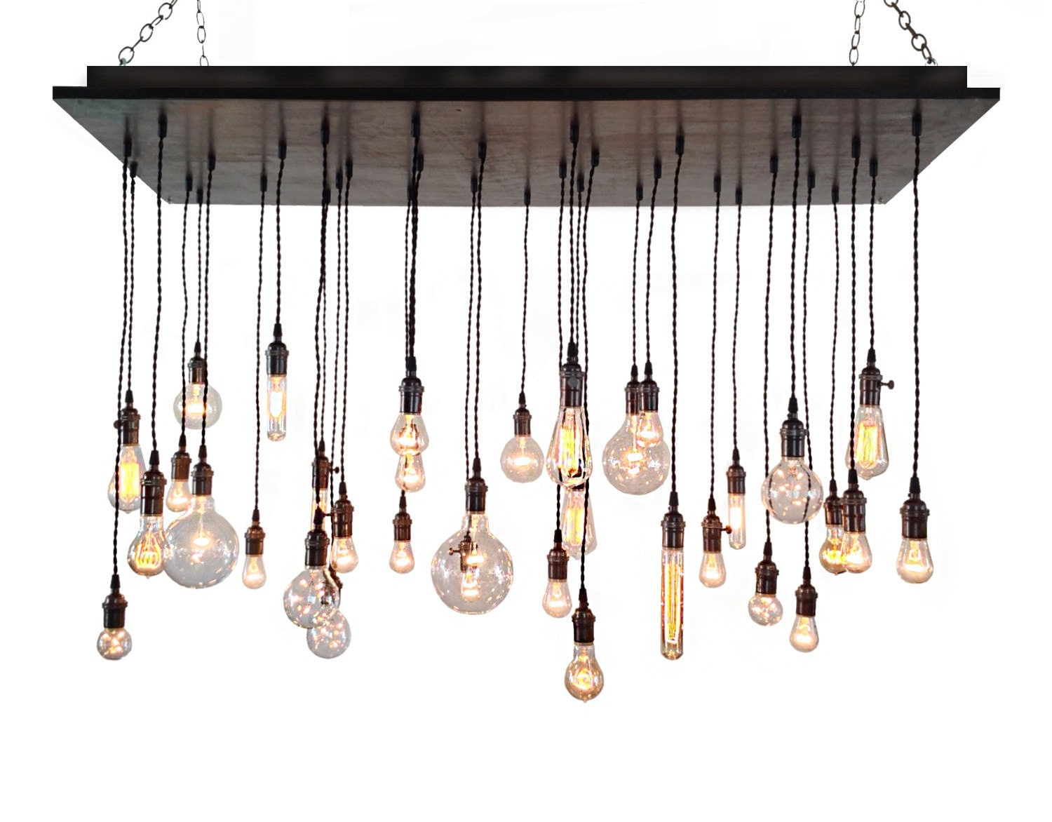 Industrial Chandelier Rustic Lighting Modern