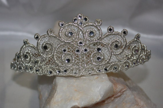 Tiara Crown Freestanding Lace Machine By Christysdigitalfiles