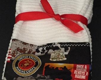 Marine Corps Hand Towels