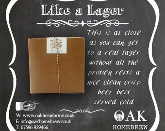 Like A lager Beer Kit
