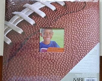 12 x 12 inch Blank Scrapbook Photo Album - Football, Sports