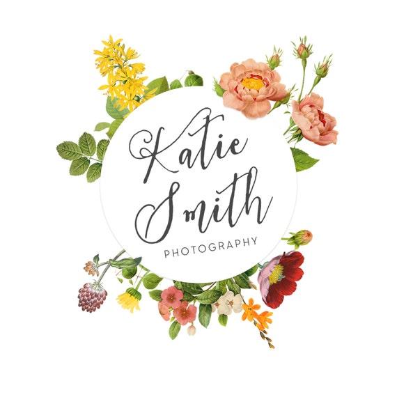 photography logo logo design vintage logo by