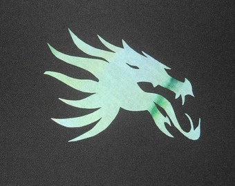 Easy Dragonhead 2 Quilt Applique Pattern Design Dragon Head