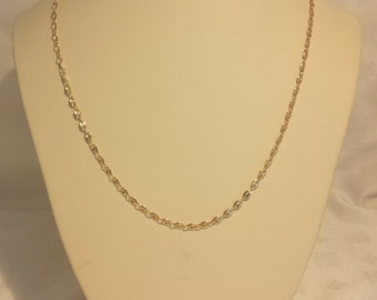 """Classic Anchor Link Chain 22"""" in 14k Yellow Gold - EB337"""