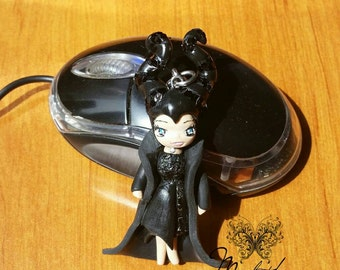 Necklace Chibi Doll Maleficent 3