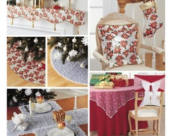 Simplicity Sewing Pattern 4846 Holiday / Christmas  Decorations Uncut