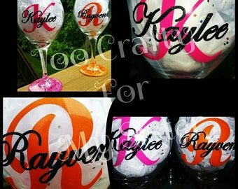 Wine Glass Customized to Fit Your Personality