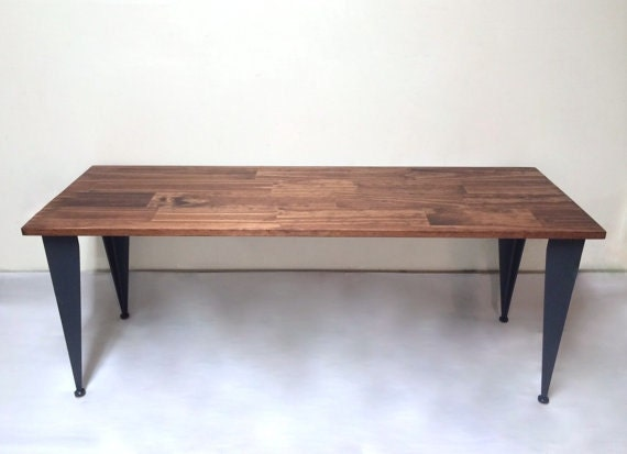 48x20 Modern Coffee Table With Iron Legs Coffee Table
