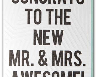 Mr. & Mrs. Awesome
