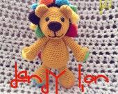 Dandy Lion Crochet Stuffed Animal