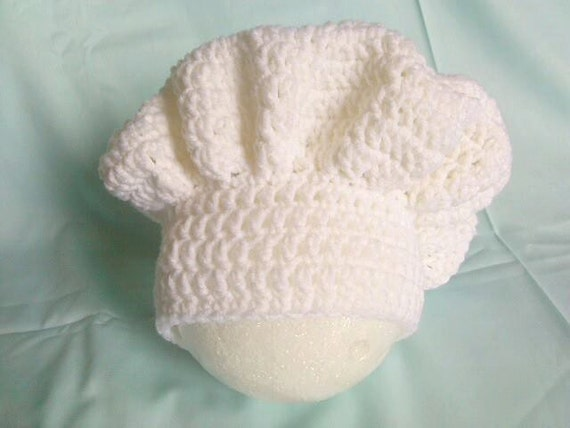 Crochet Pattern Chef Hat : chef hat chef gift crochet hat baby photo by ...