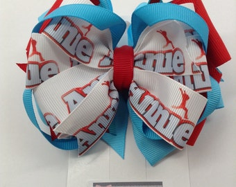 SALE Handmade Annie stacked bow