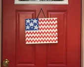 American Flag, wood American flag, Stars and Stripes, Chevron America Flag, wooden American flag, pallet wood sign, patriotic decor