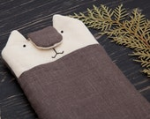 iphone 6s sleeve Cat iphone cover Gray iphone 6 plus case samsung galaxy s5 sleeve Girlfriend Gift iphone 6 case