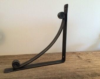 wrought iron shelf brackets, corbels, counter support