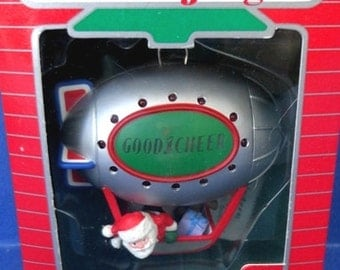 1987 Good Cheer Blimp Hallmark Retired Magic Ornament