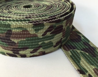 Military Style Webbing, 1.8 in military webbing, belt webbing, printed belt webbing