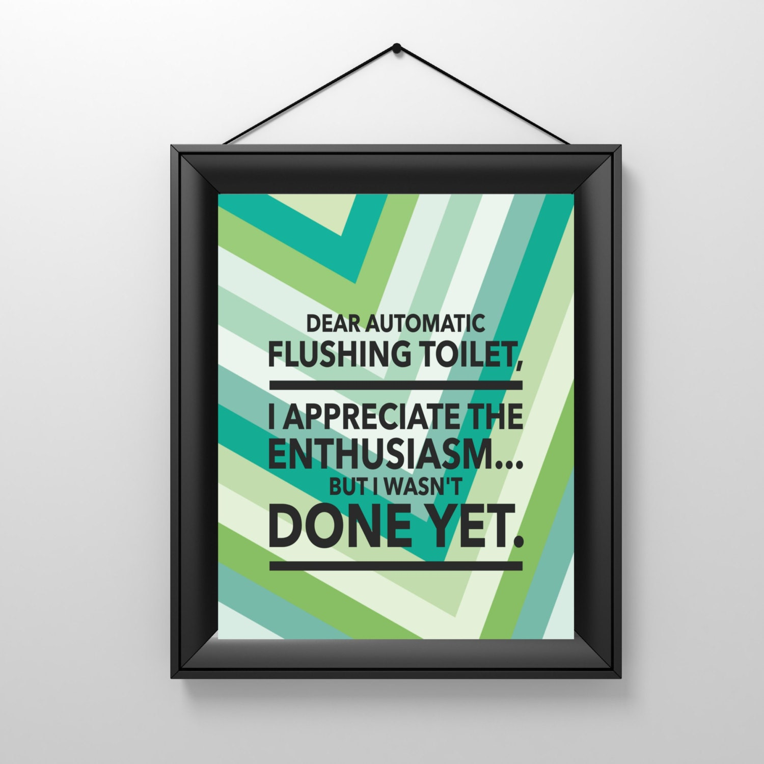 Printable Bathroom Wall Decor Funny Prints By InstantDigitalArt