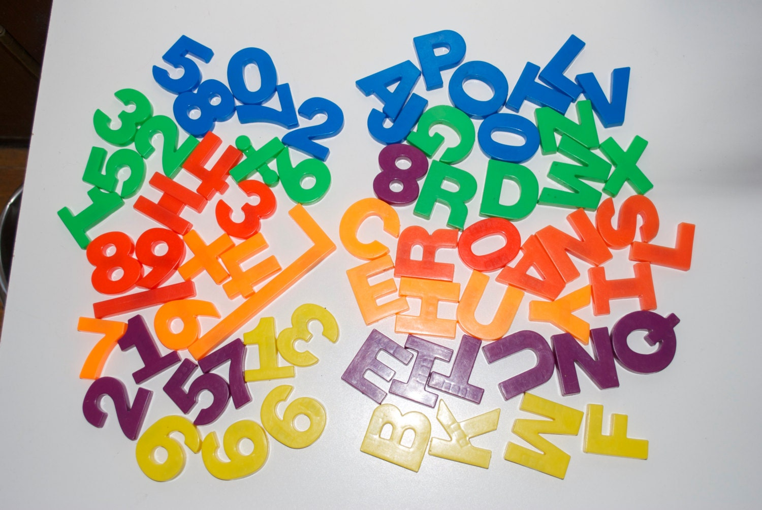 plastic magnet letters numbers tootsietoy magnetic lot of 67 With 1 magnetic letters