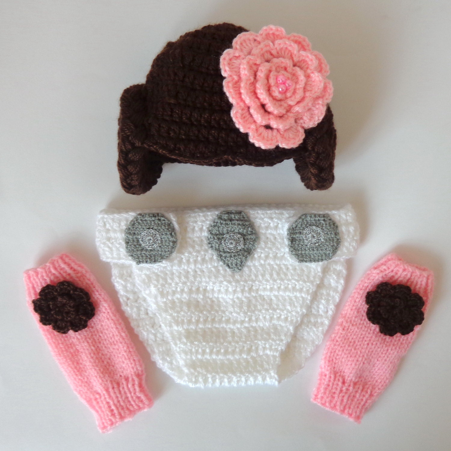 Princess leia crochet baby hat pattern manet for princess leia costume set 3pcs baby hat diaper cover and leg princess leia crochet baby hat pattern star wars crochet patterns free bankloansurffo Choice Image