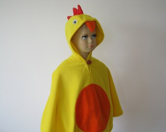 chicken costume halloween carnival cape for toddlers