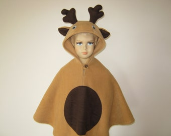 elk halloween carnival costume cape for toddlers