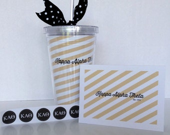 Kappa Alpha Theta Note Card Gift Set